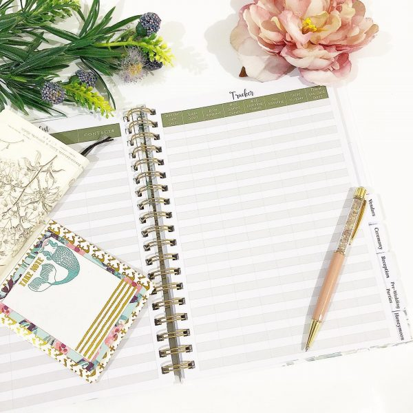 wedding planner book inside pages