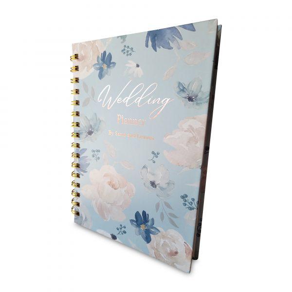 wedding planner book side view